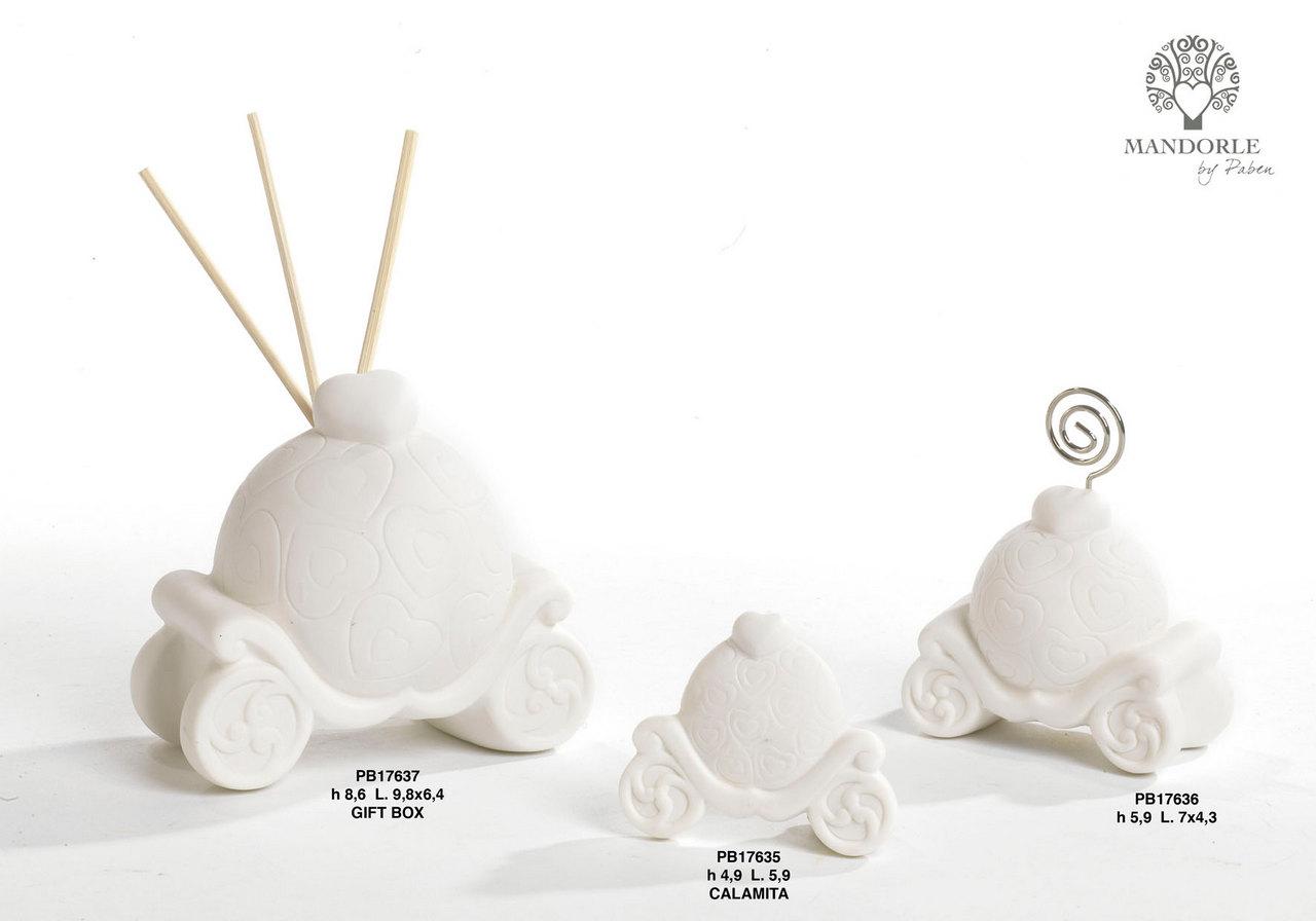 1D1B - Collezioni Porcellana-Ceramica - Mandorle Bomboniere  - Novità - Paben