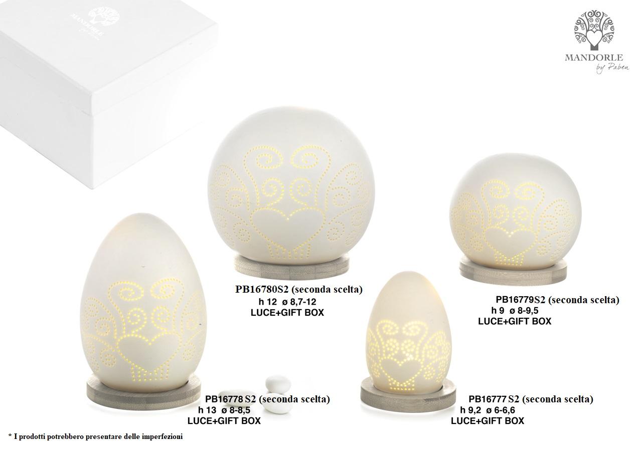 1D44 - Collezioni Porcellana-Ceramica - Mandorle Bomboniere  - Prodotti - Rebolab