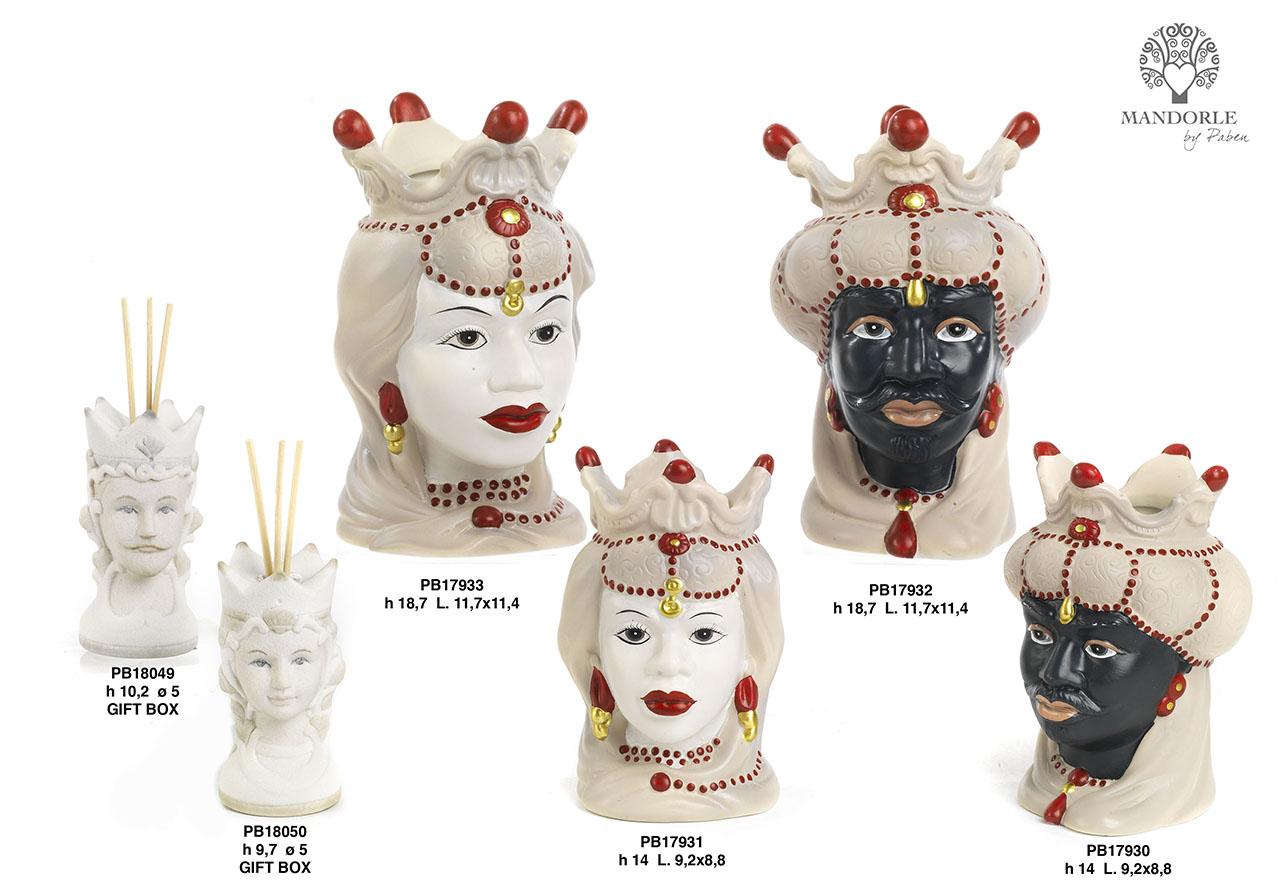 1D73 - Collezioni Porcellana-Ceramica - Mandorle Bomboniere  - Novità - Paben