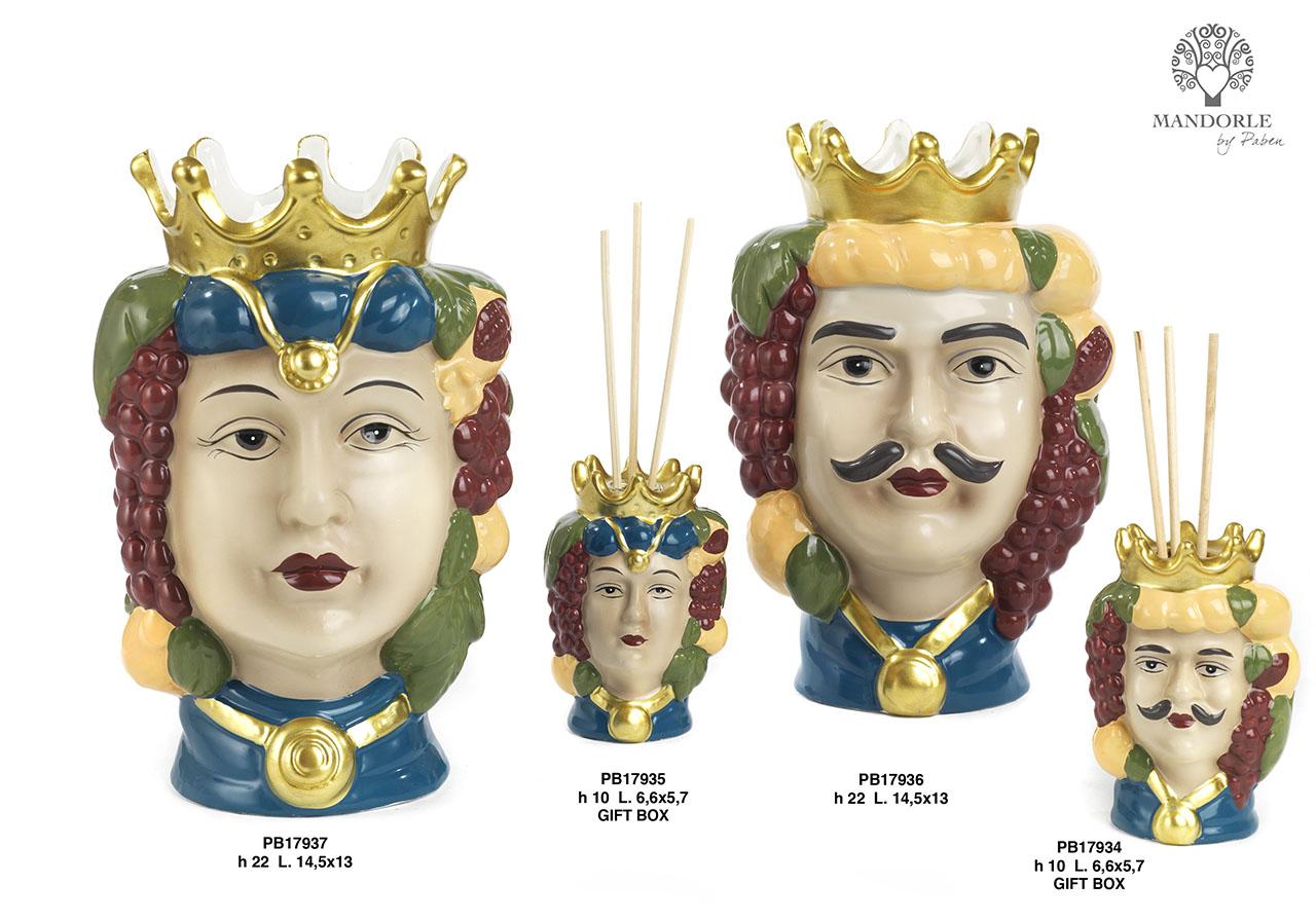 1D74 - Porcelain-Ceramics Collections - Mandorle Bonbonnieres - New arrivals - Paben