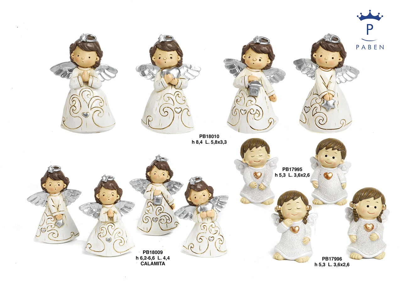1D8A - Polyresin Angels - Christmas and Other Events - New arrivals - Paben