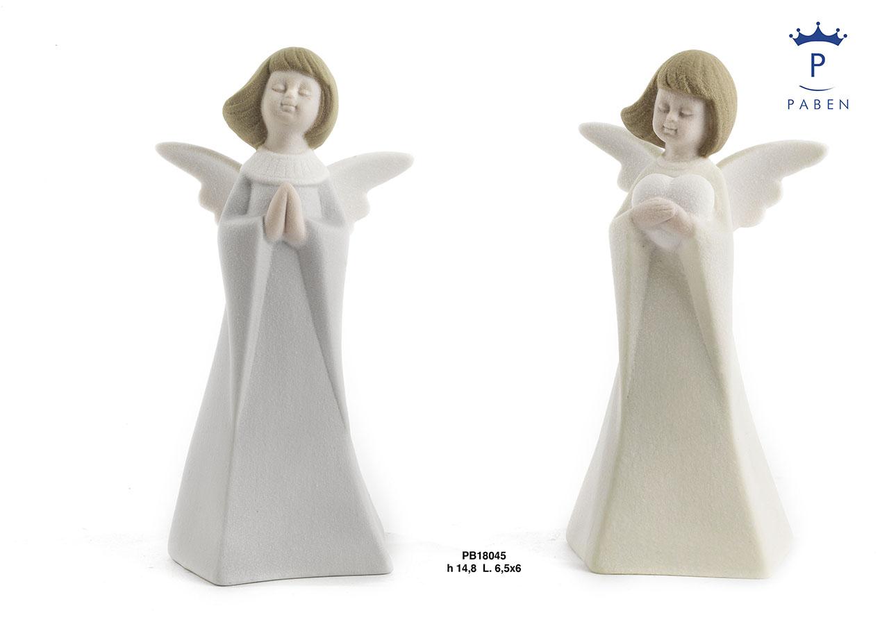 1D9A - Angeli Porcellana - Natale e Altre Ricorrenze - Novità - Paben