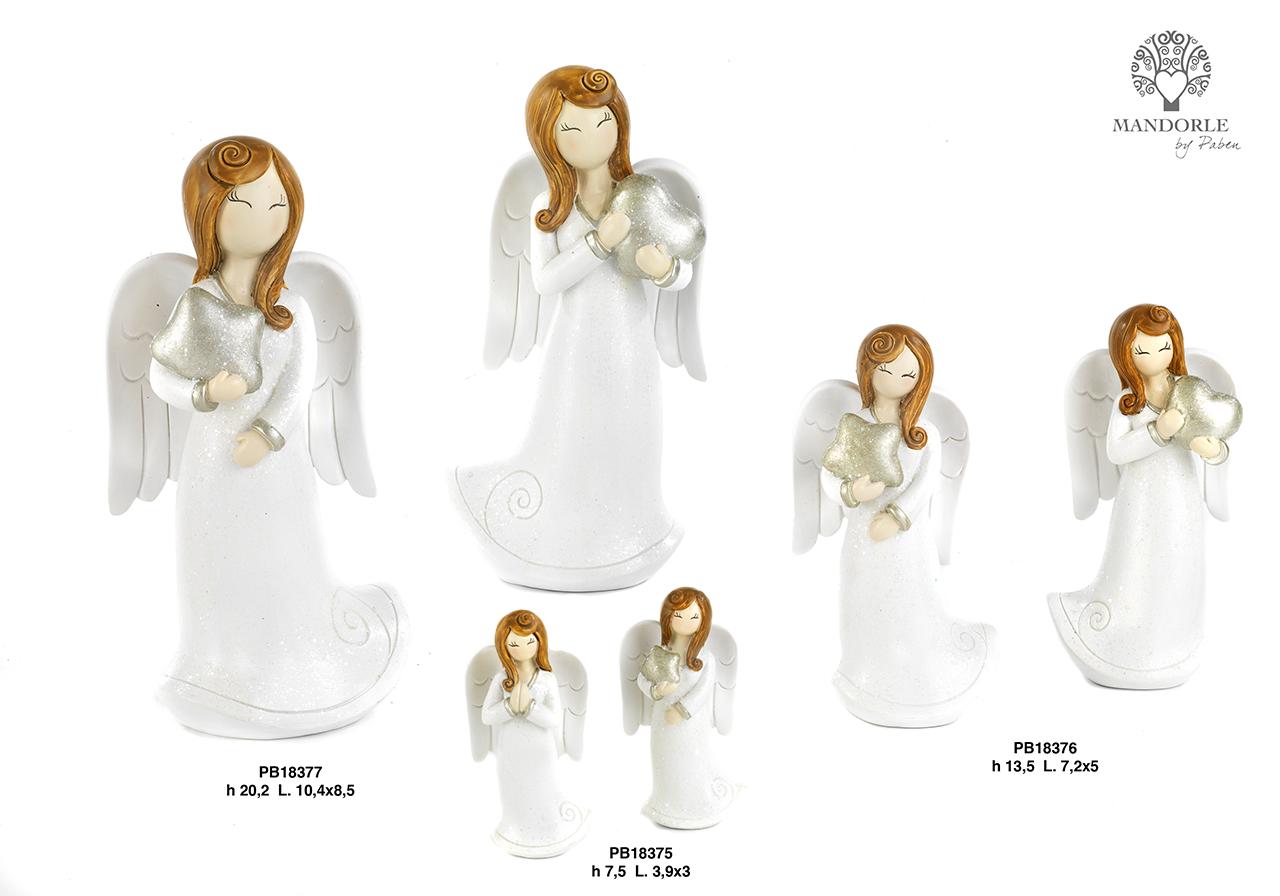 1DFD - Angeli Resina - Natale e Altre Ricorrenze - Novità - Paben