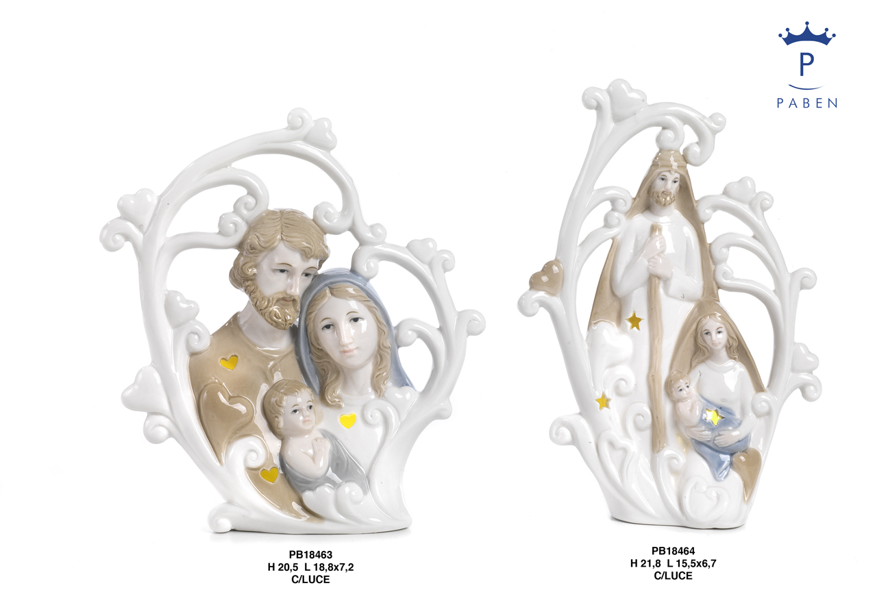 1E39 - Presepi - Natività Porcellana - Natale e Altre Ricorrenze - Novità - Paben