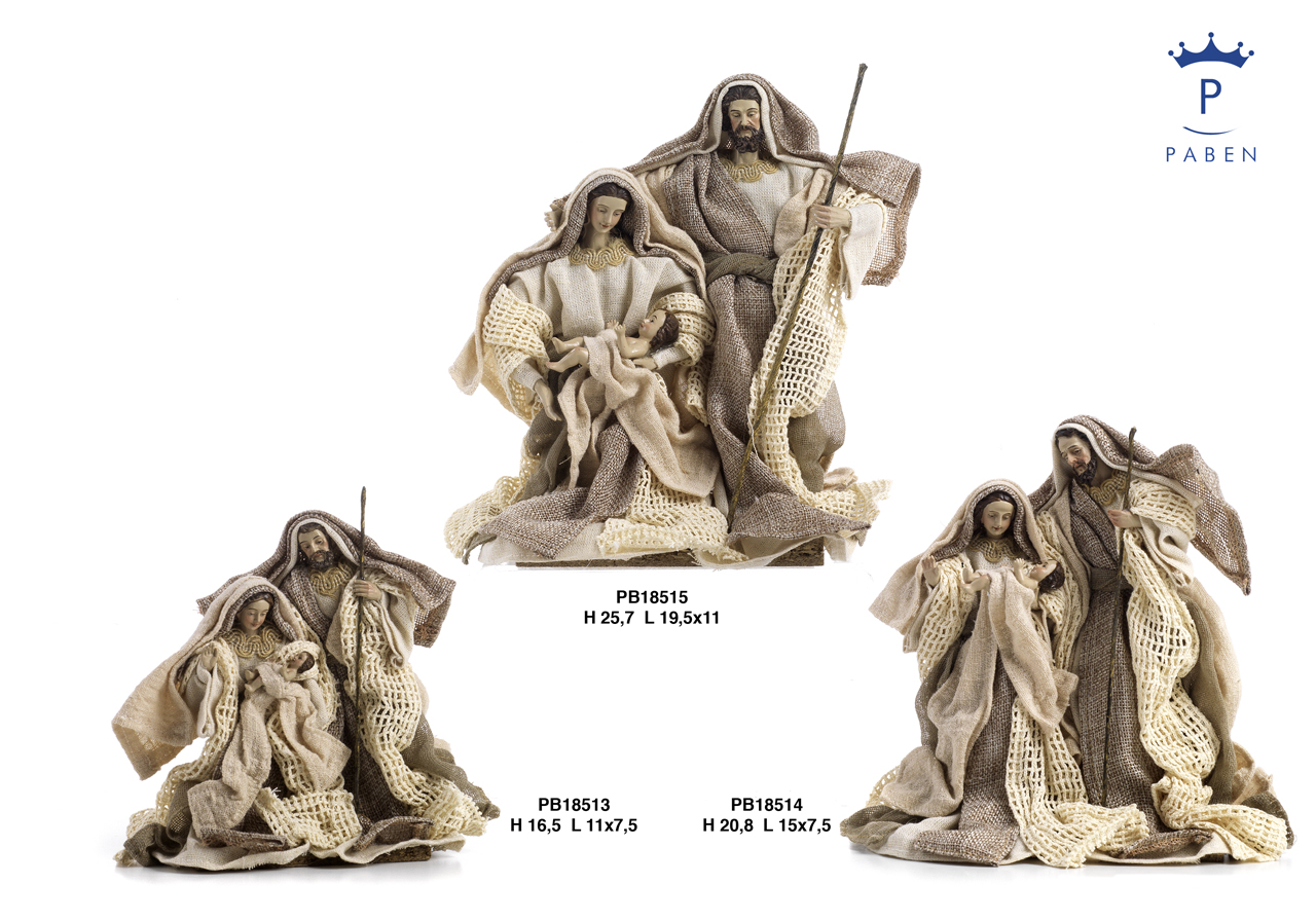 1E46 - Polyresin Cribs - Nativity Scenes - Christmas and Other Events - New arrivals - Paben