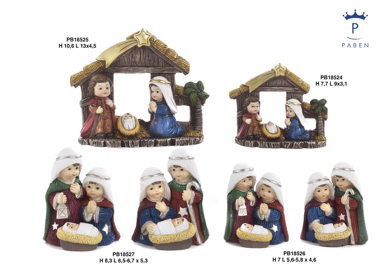 1E4C - Presepi - Natività Resina - Natale e Altre Ricorrenze - Novità - Paben