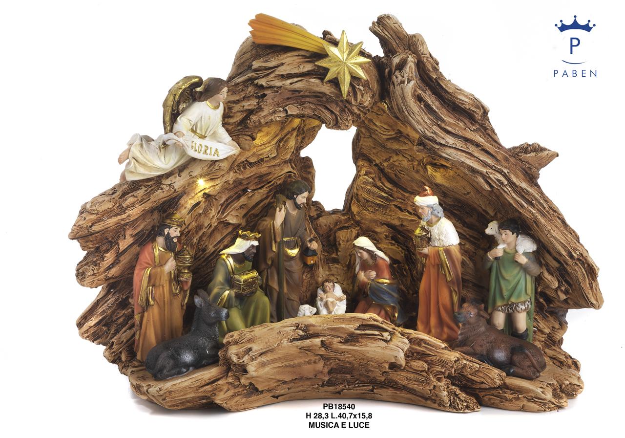 1E53 - Presepi - Natività Resina - Natale e Altre Ricorrenze - Novità - Paben