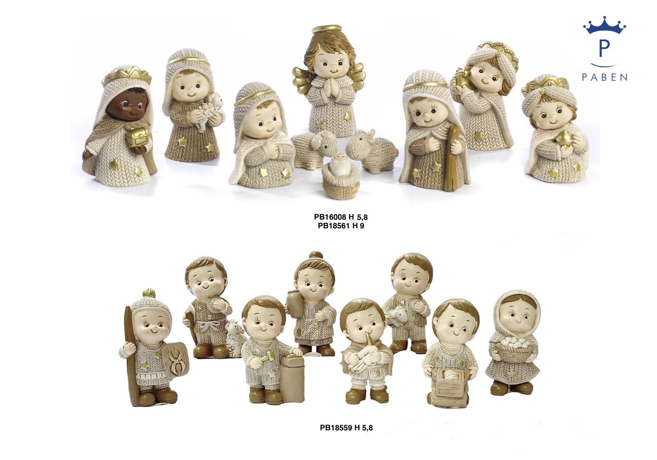 1E5D - Presepi - Natività Resina - Natale e Altre Ricorrenze - Novità - Paben