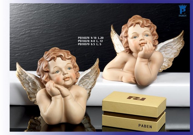 1566 - Angeli Porcellana - Mandorle Bomboniere  - Prodotti - Paben