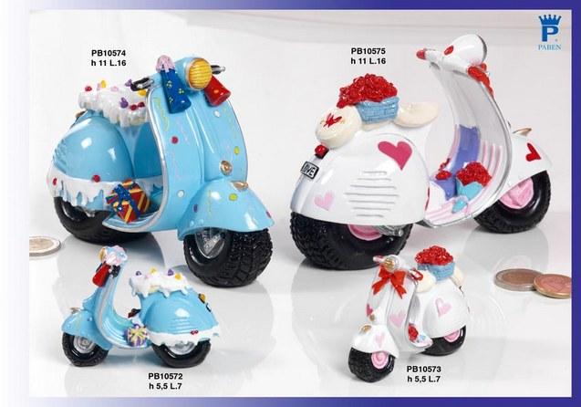 15A8 - Macchinine - Moto - Bici - Mandorle Bomboniere  - Prodotti - Paben