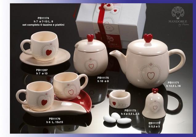 1671 - Collezioni Porcellana-Ceramica - Mandorle Bomboniere  - Prodotti - Paben