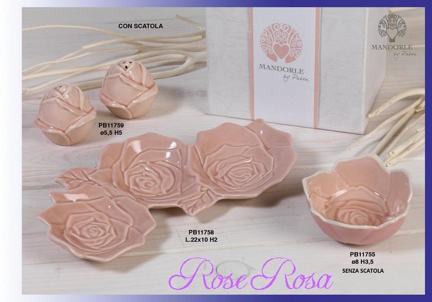 1721 - Collezioni Porcellana-Ceramica - Mandorle Bomboniere  - Prodotti - Paben