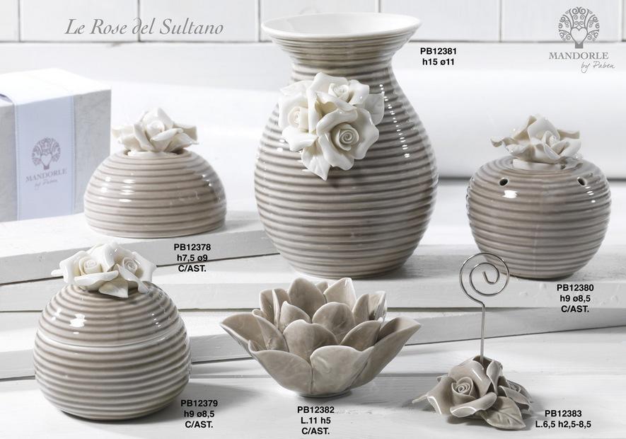 17D6 - Collezioni Porcellana-Ceramica - Mandorle Bomboniere  - Prodotti - Paben