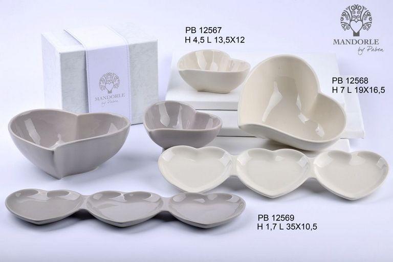 1803 - Collezioni Porcellana-Ceramica - Mandorle Bomboniere  - Prodotti - Paben