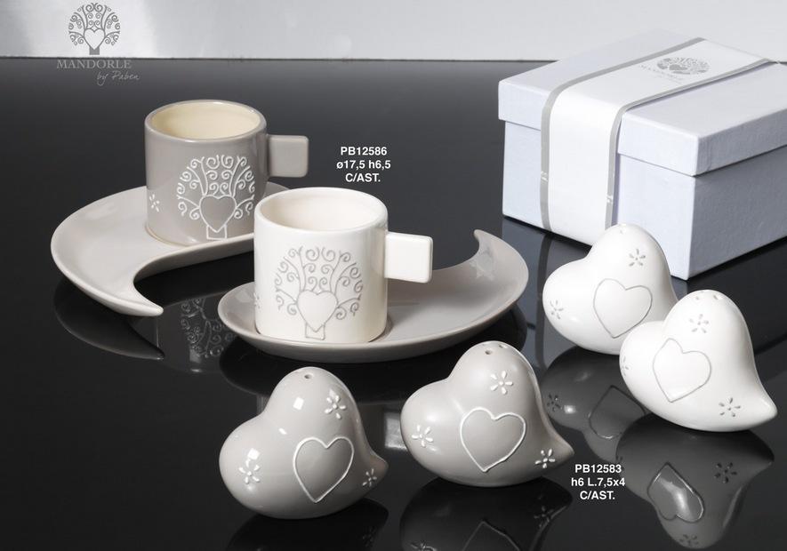 1808 - Collezioni Porcellana-Ceramica - Mandorle Bomboniere  - Prodotti - Paben