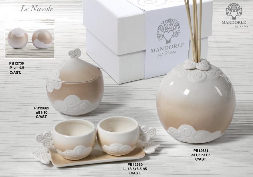 181C - Collezioni Porcellana-Ceramica - Mandorle Bomboniere  - Prodotti - Paben