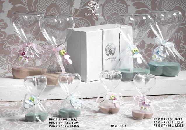 18A3 - Collezioni Vetro - Mandorle Bomboniere  - Prodotti - Paben