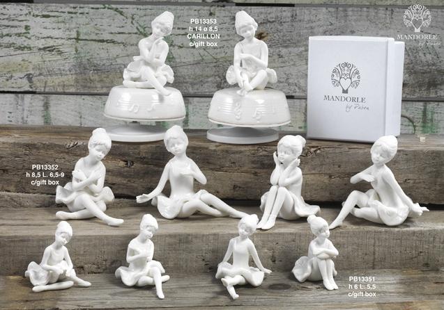 18C3 - Collezioni Porcellana-Ceramica - Mandorle Bomboniere  - Prodotti - Paben