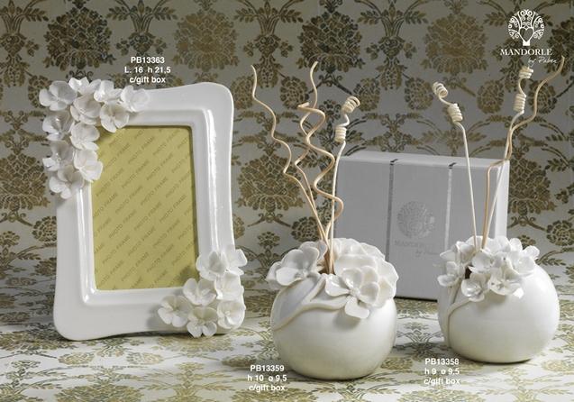 18C6 - Collezioni Porcellana-Ceramica - Mandorle Bomboniere  - Prodotti - Paben