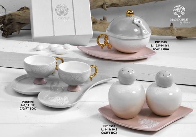 18EA - Collezioni Porcellana-Ceramica - Mandorle Bomboniere  - Prodotti - Paben