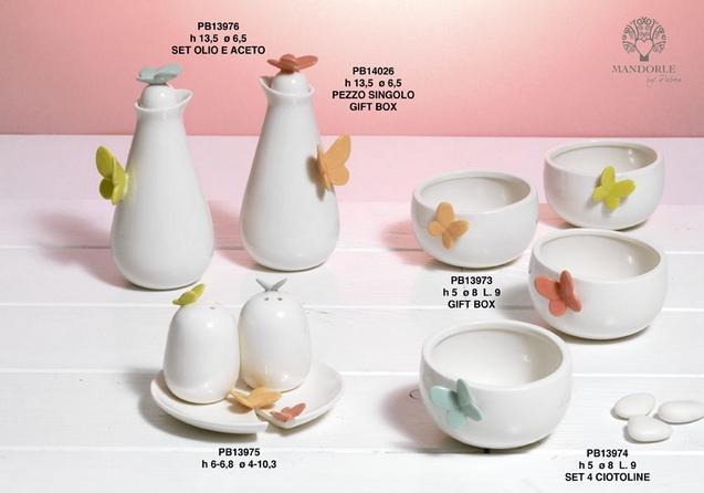 1964 - Collezioni Porcellana-Ceramica - Mandorle Bomboniere  - Prodotti - Paben