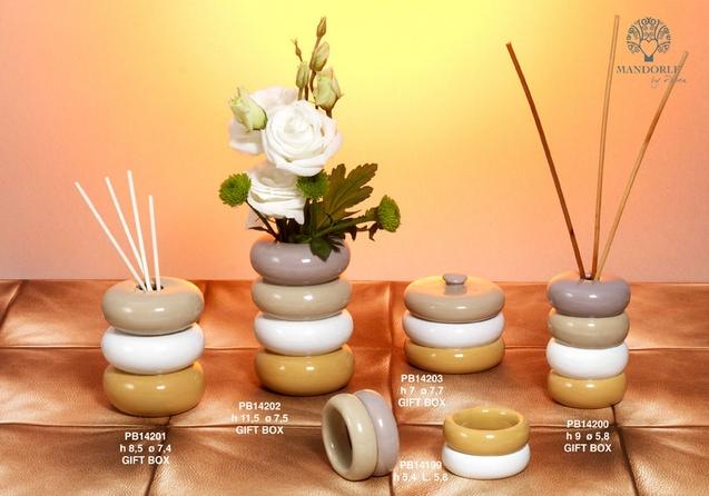 1990 - Collezioni Porcellana-Ceramica - Mandorle Bomboniere  - Prodotti - Paben