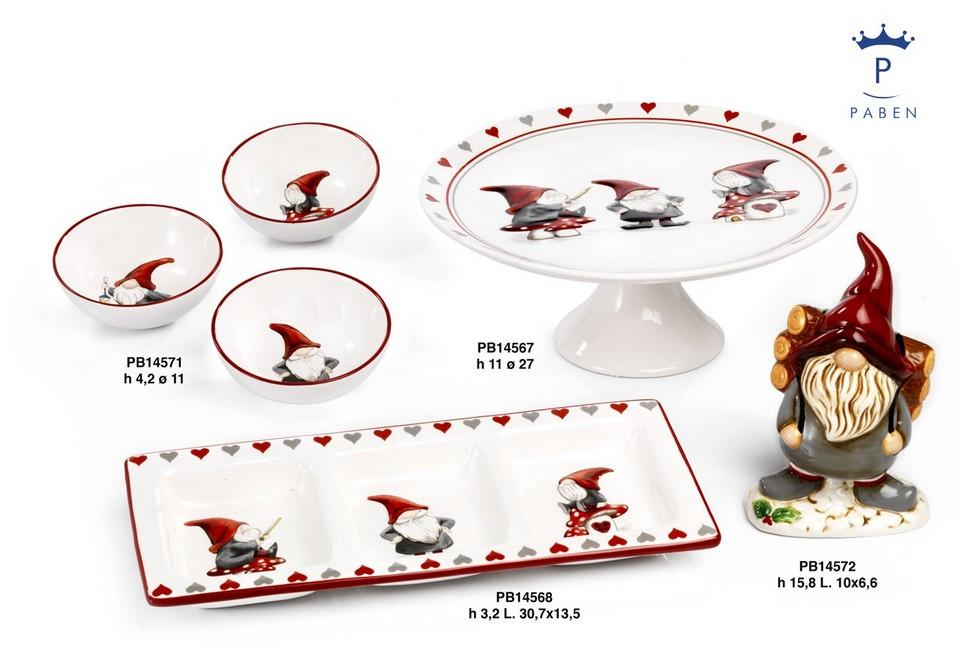 19DF - Regali - Ceramiche Natalizie - Natale e Altre Ricorrenze - Prodotti - Paben