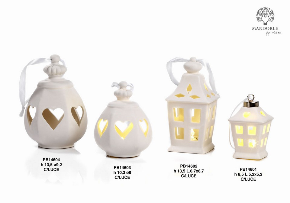 19E9 - Collezioni Porcellana-Ceramica - Mandorle Bomboniere  - Prodotti - Paben