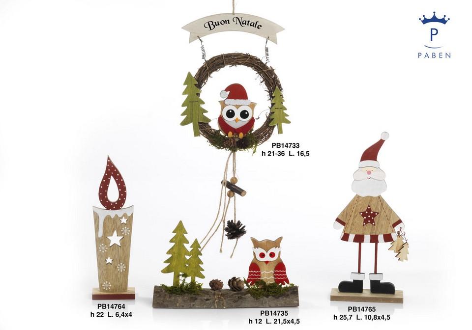 1A10 - Decorazioni - Addobbi Natalizi - Natale e Altre Ricorrenze - Prodotti - Paben
