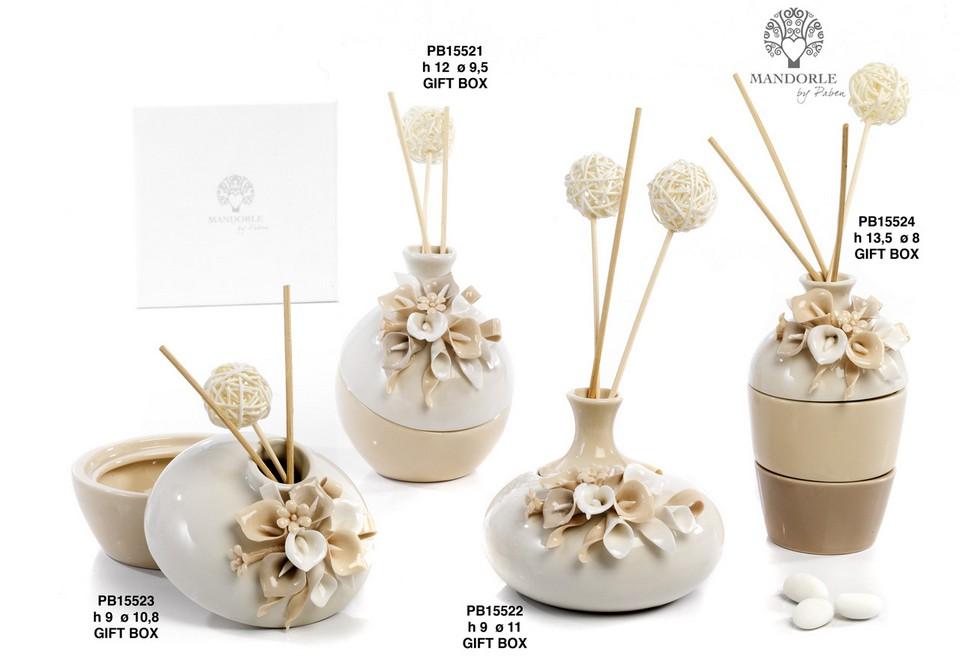 1ACC - Collezioni Porcellana-Ceramica - Mandorle Bomboniere  - Prodotti - Paben