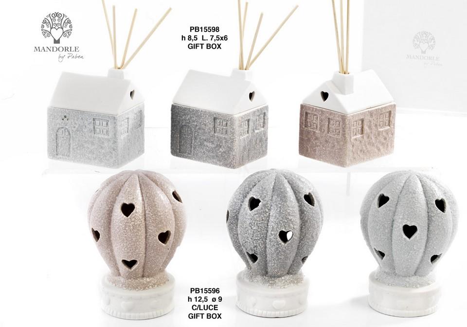 1ADA - Collezioni Porcellana-Ceramica - Mandorle Bomboniere  - Prodotti - Paben