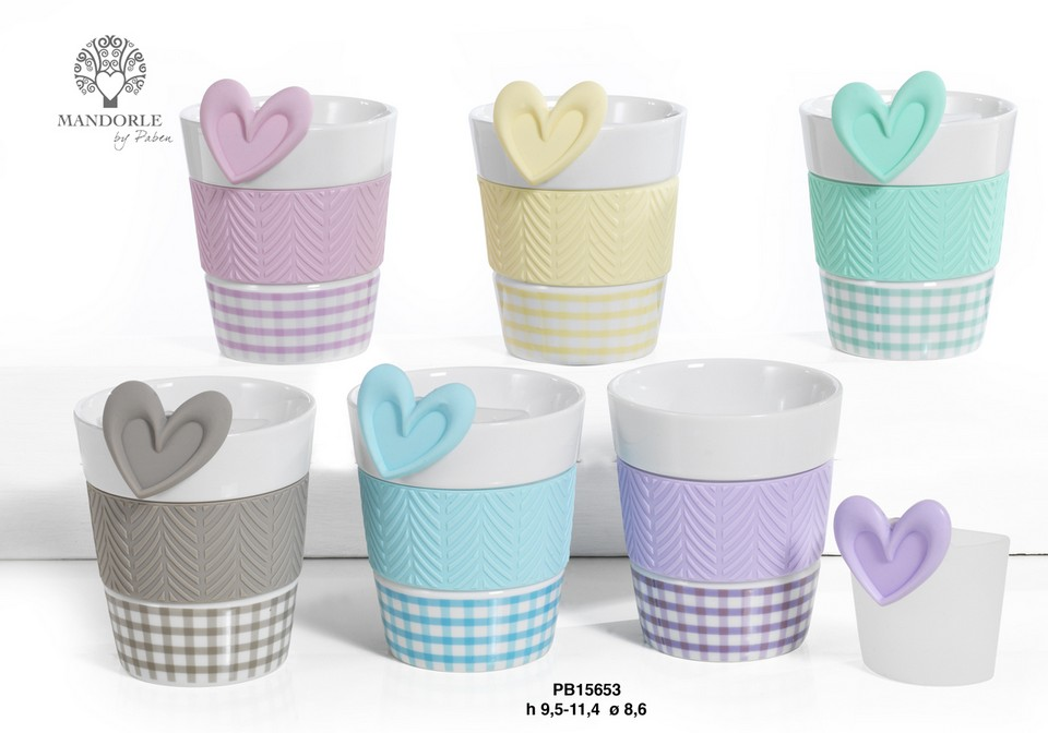 1AF1 - Collezioni Porcellana-Ceramica - Mandorle Bomboniere  - Prodotti - Paben