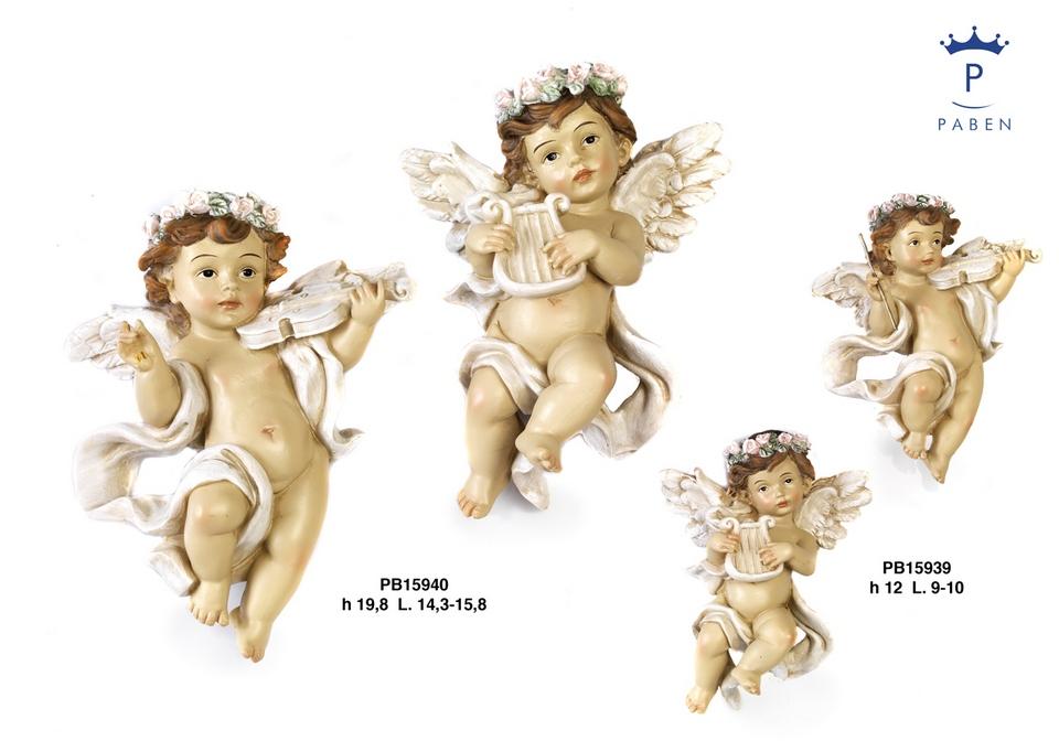 1B4A - Angeli Resina - Natale e Altre Ricorrenze - Novità - Paben