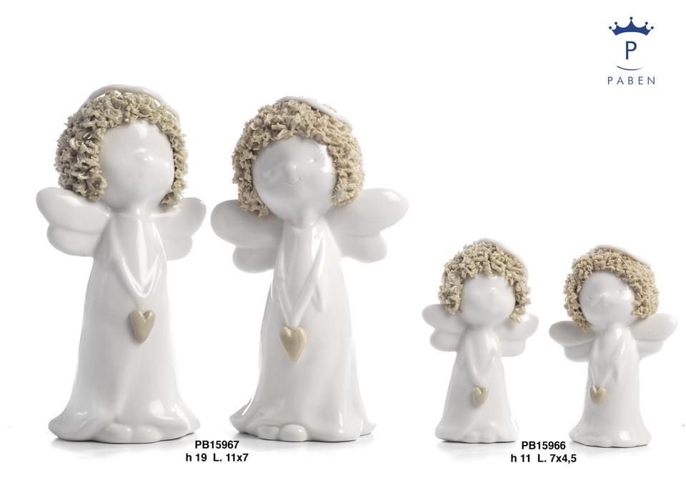 1B52 - Angeli Porcellana - Natale e Altre Ricorrenze - Prodotti - Paben