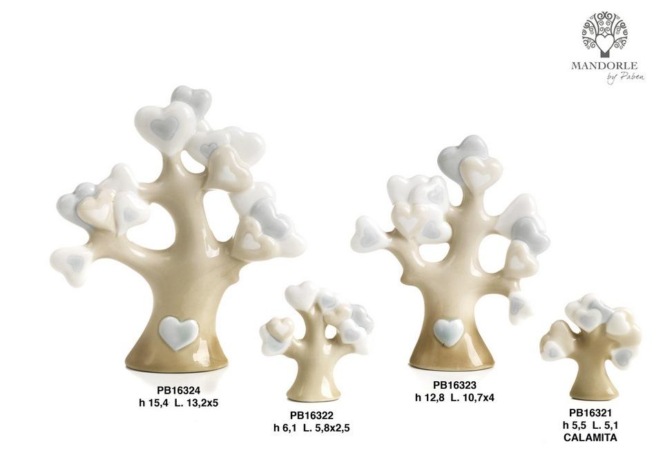 1BB7 - Collezioni Porcellana-Ceramica - Mandorle Bomboniere  - Novità - Paben
