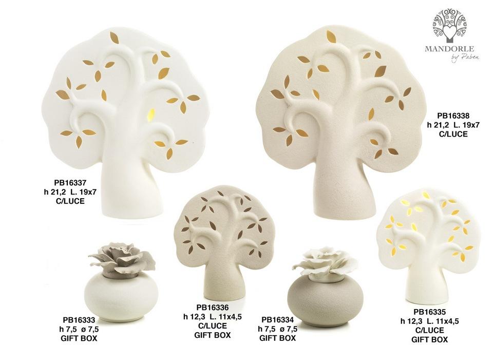 1BBA - Collezioni Porcellana-Ceramica - Mandorle Bomboniere  - Prodotti - Paben