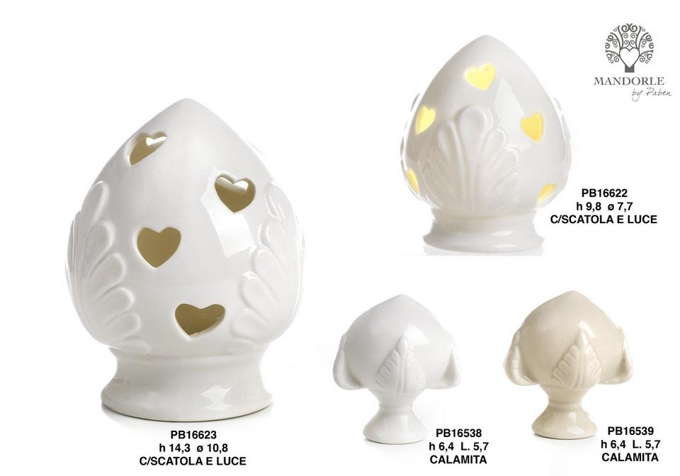 1BE8 - Collezioni Porcellana-Ceramica - Mandorle Bomboniere  - Novità - Paben