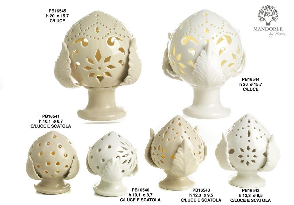 1BE9 - Collezioni Porcellana-Ceramica - Mandorle Bomboniere  - Novità - Paben