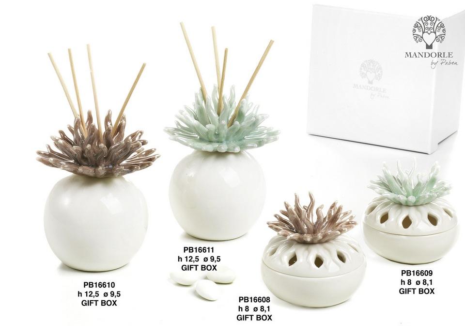 1BFD - Collezioni Porcellana-Ceramica - Mandorle Bomboniere  - Novità - Paben