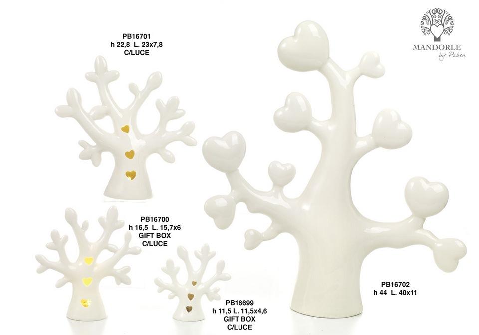 1C0E - Collezioni Porcellana-Ceramica - Mandorle Bomboniere  - Novità - Paben