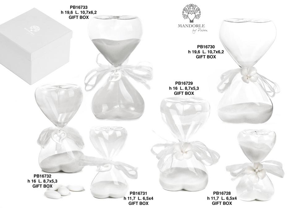 1C15 - Collezioni Vetro - Mandorle Bomboniere  - Prodotti - Paben