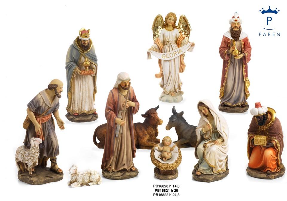 1C35 - Presepi - Natività Resina - Natale e Altre Ricorrenze - Novità - Paben