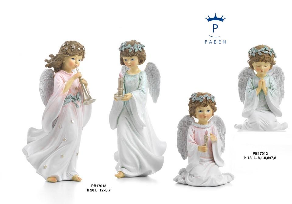 1C75 - Angeli Resina - Mandorle Bomboniere  - Prodotti - Paben