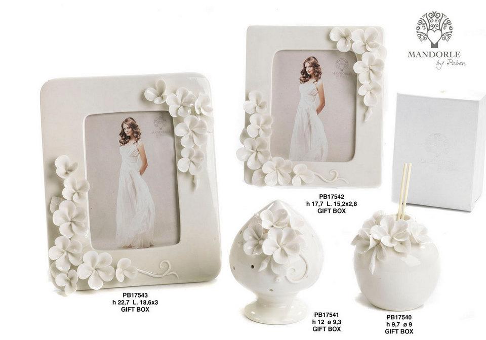 1D00 - Collezioni Porcellana-Ceramica - Mandorle Bomboniere  - Novità - Paben