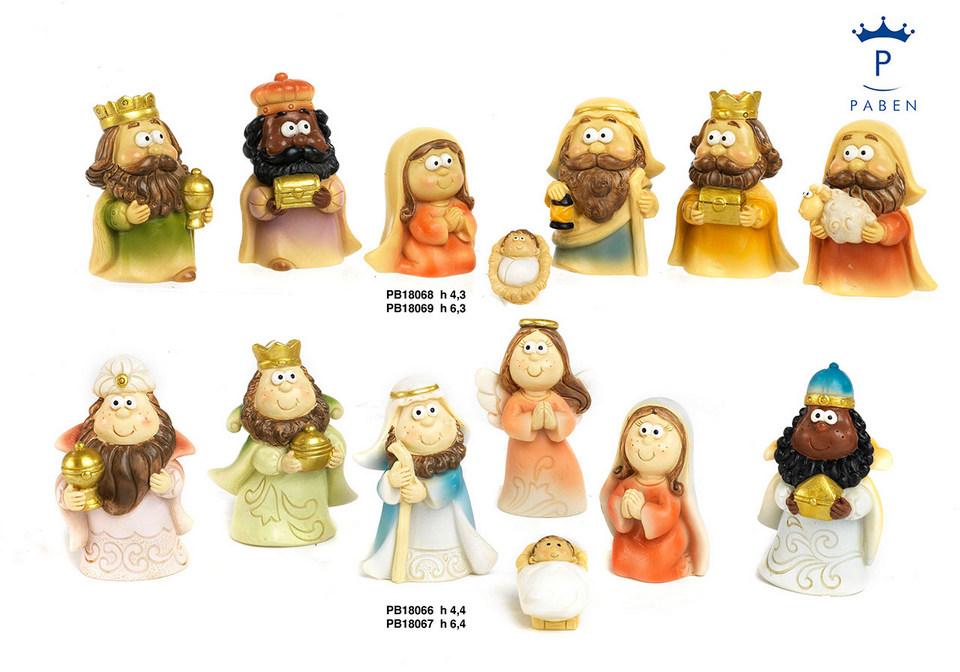 1DA0 - Presepi - Natività Resina - Articoli Religiosi - Novità - Paben