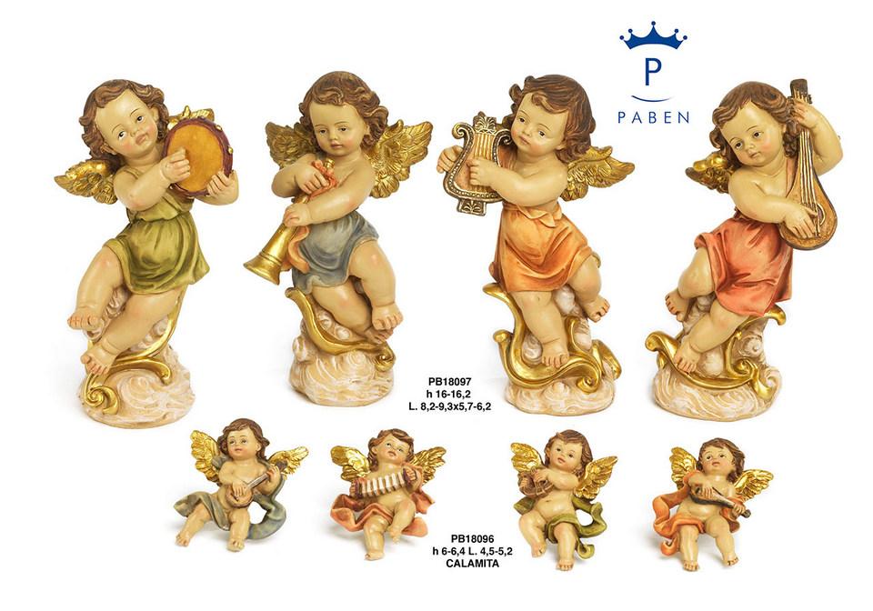 1DAC - Angeli Resina - Natale e Altre Ricorrenze - Novità - Paben