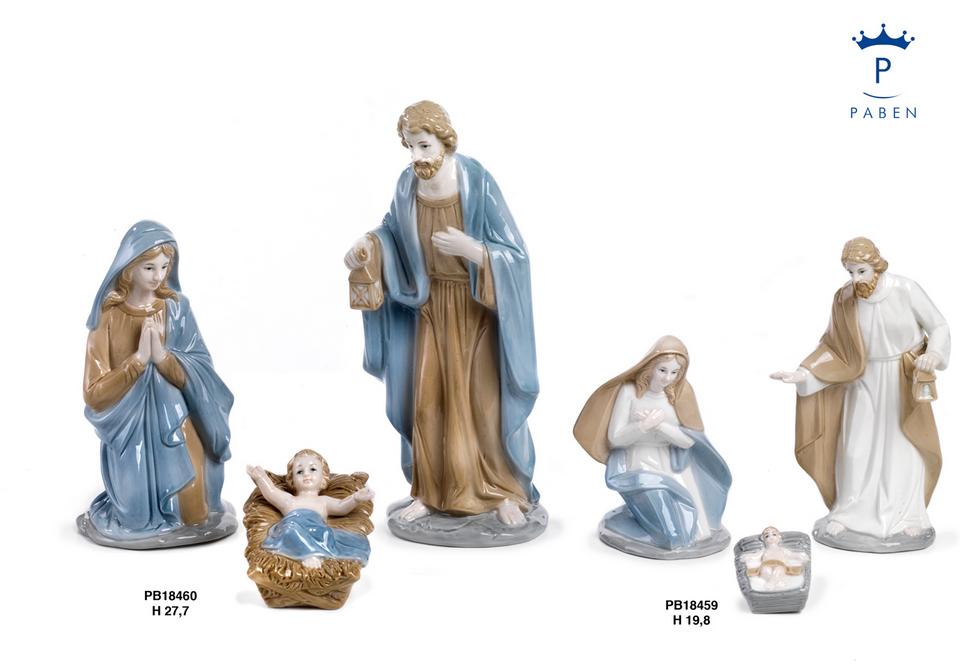 1E37 - Presepi - Natività Porcellana - Natale e Altre Ricorrenze - Novità - Paben