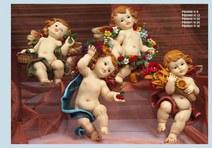 1233 - Angeli Resina - Natale e Altre Ricorrenze - Prodotti - Paben