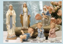 127A - Statuine Santi - Immagini Sacre 'Nàvel' - Articoli Regalo - Bomboniere Porcellana - Prodotti - Rebolab