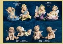 12F4 - Angeli 'Nàvel' - Articoli Regalo - Bomboniere Porcellana - Prodotti - Rebolab